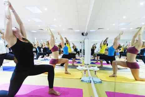 Feel Hot Yoga -  Eight Yoga Classes  - Save 69%