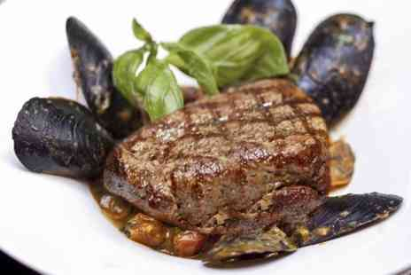 Topo Gigios - Mussels, Steak and Prosecco For Two  - Save 54%