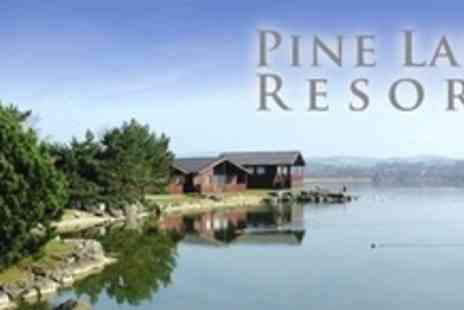 Pine Lake Resort - Three Lakeside Nights For Up to Six With Champagne and Chocolates Staying Friday to Sunday - Save 64%