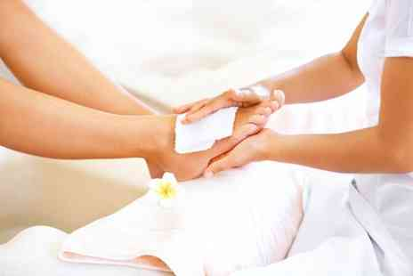 Evidence Beauty - Spa pedicure and callus treatment with paraffin wax - Save 67%