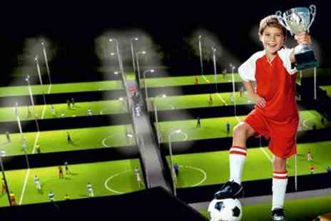 Goals Soccer Centre HO - Football Birthday Party For Ten Children  - Save 58%