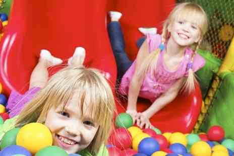 Cheeky Monkeys - Three Sessions Indoor Play  With Food  - Save 51%