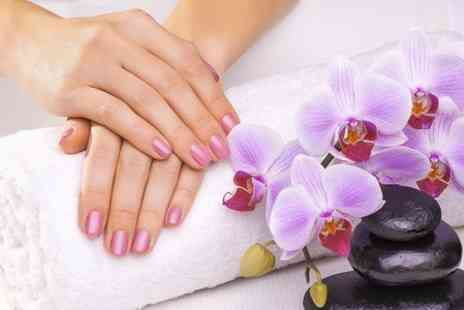 The Laser and Beauty Clinic - Shellac Manicure or Pedicure Plus Express Facial  - Save 50%