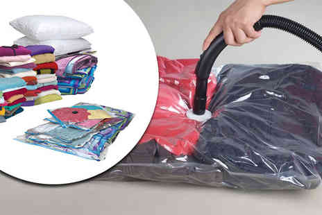 web 18 -  Vacuum Storage Bags   - Save 75%