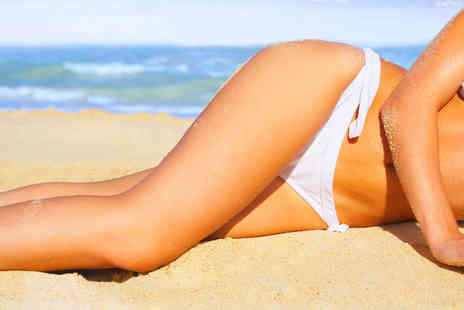 London Tanning & Beauty - One  Visit for a Brazilian Wax or Caci Facial and Lymphatic Drainage Massage  - Save 52%