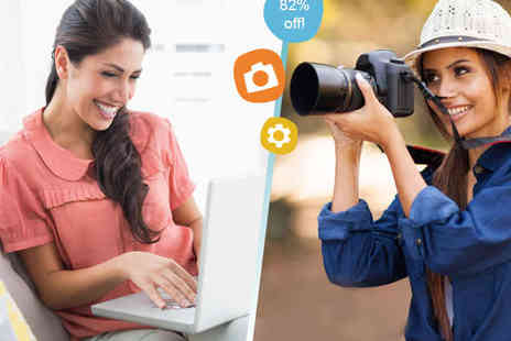 Get to Grips with Digital Photography -  Online Photography Course - Save 82%
