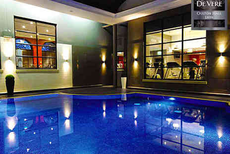 Oulton Hall - Luxurious Spa Day with Welcome Drink on Arrival Choice of Two ESPA Treatments - Save 55%