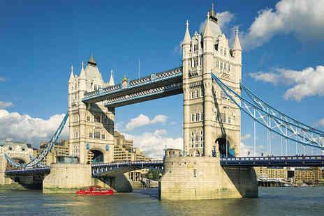 River Thames Cruises - BBQ Lunch Cruise for Two People - Save 57%