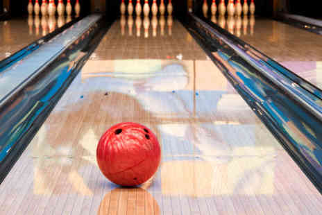 Jade Jones Pavilion Flint - Two Games of Bowling with Food and Drink for Six - Save 68%