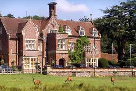Burley Manor Hotel - Historic New Forest Manor Getaway - Save 47%