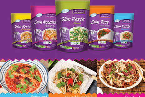 Eat Water -  Packs of Assorted Slim Pasta, Rice, and Noodles - Save 62%
