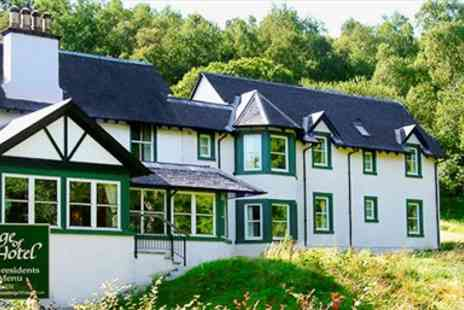 Bridge of Cally Hotel - Scottish Countryside Retreat with Meals - Save 47%