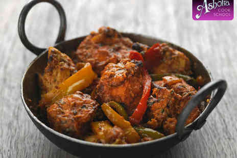 Ashoka Cook School - Chicken Tikka Masala Cookery Class for One - Save 60%