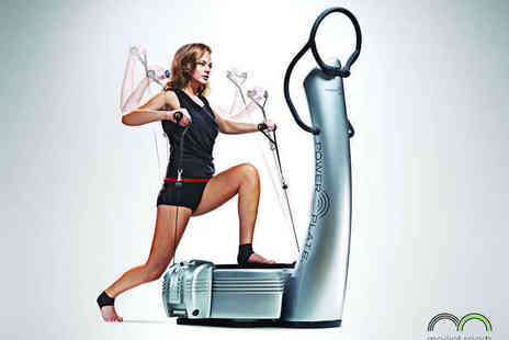 Market Sports Health Club - Five Power Plate Fitness Sessions - Save 52%