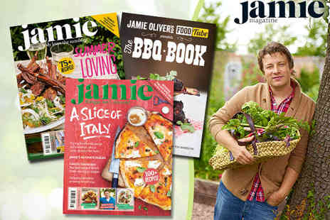 Jamie Oliver - One Year Subscription to Jamie Magazine Plus Copy of DJ BBQs The BBQ Book - Save 48%