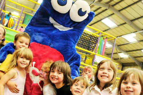 PlaySpace - Play Pass to Soft Play Centre for Two Adults and Two Children - Save 68%