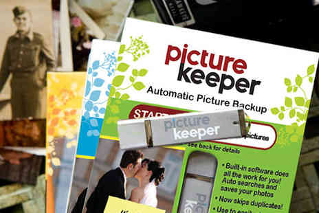 Picture Keeper - Photo Back Up Device  - Save 70%