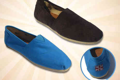 MrsMarcos - Unisex Espadrilles in Light Blue or Brown - Save 50%