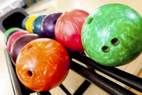 Strike Ten Bowl - Bowling With Drinks For Six  - Save 64%