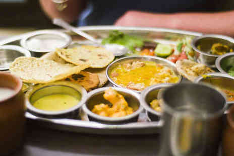 Suruchi - Vegetarian or Non Vegetarian Indian Thalid Meal with a Half Pint of Cobra Beer Each for Two People - Save 57%