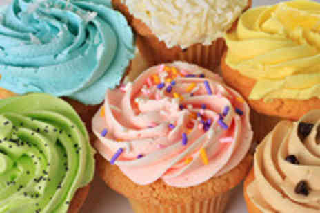 Lottie McPhees - Two Cupcakes & hot drink for two - Save 61%