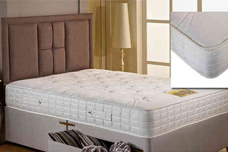Einfeld  - Hand Tufted 1600 Pocket Sprung Mattress - Save 57%