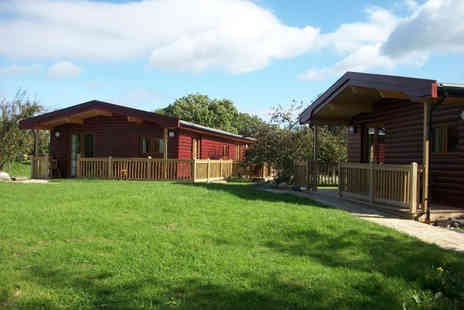 Wall Eden Farm Holidays - Three night weekend Luxury Somerset log cabin break for up to 5 - Save 28%