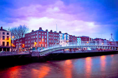 Airbridge Travel - Two night stay in Dublin break including flights  - Save 44%