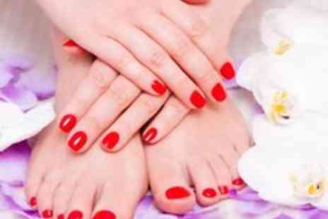 Clifton Therapy Centre - Basic manicure or pedicure, with a file & polish - Save 50%