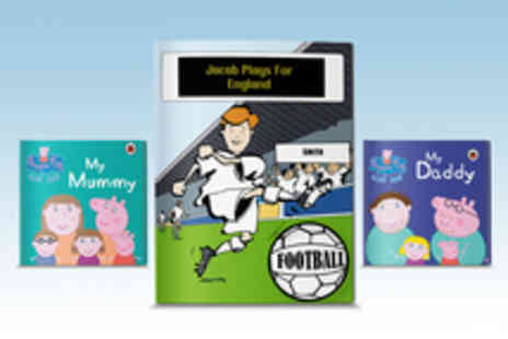 Penwizard - A Choice of Personalised Childrens Story Books Including Peppa Pig - Save 37%