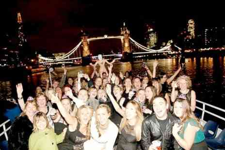 West End on the Thames - Boat Party For One  - Save 47%