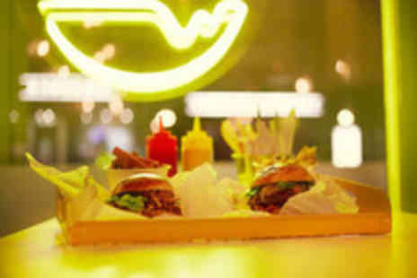 Burger Stop - Premium Burger Dining for Two - Save 25%
