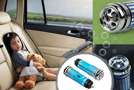 Chazooga - Car air purifier cleaner - Save 75%