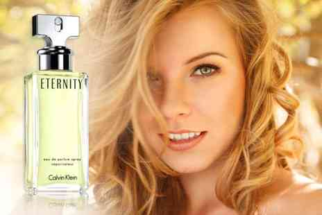 HSK ENTERPRISES - 100ml bottle of Calvin Klein Eternity - Save 61%
