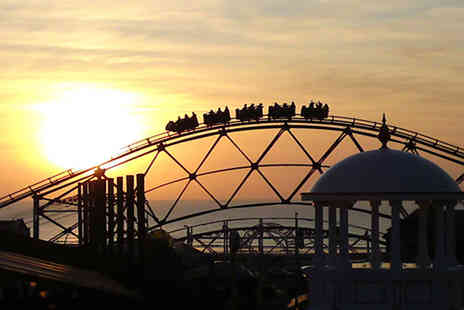 Blackpool Pleasure Beach - Unlimited access day wristband  - Save 43%