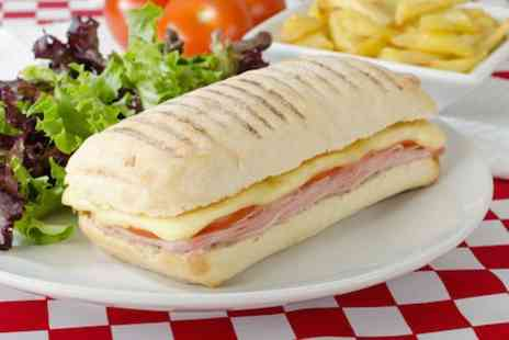 Ramada Sutton Coldfield - Panini with chips & a coffee or tea for 2 - Save 50%