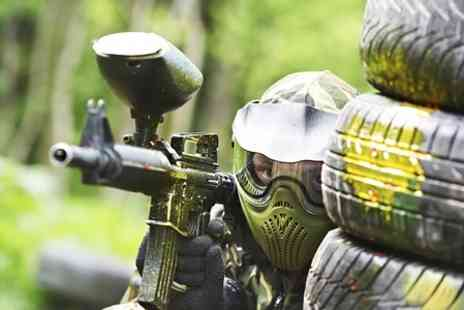 Unreal Paintball - Full Day Unreal Paintball With 100 Balls  For Two - Save 85%