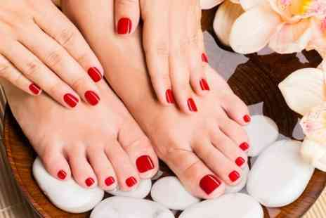 Mademoiselles Hair & Beauty - Express Manicure and Pedicure - Save 69%