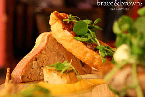 Brace and Browns - Five Tapas Dishes to Share and Two Sparkling Cocktails - Save 0%