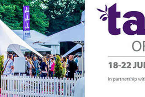 Taste Festivals - Opening Night Ticket to Taste of London  - Save 25%