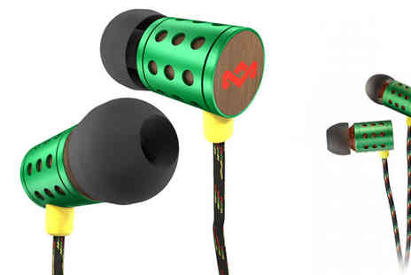 Doo Hickey HUT - House Of Marley Midnight Ravers Earphones - Save 47%