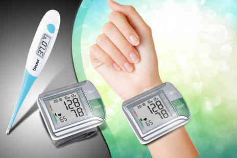 Medhealth Supplies - Wrist blood pressure monitor HGN and thermometer  - Save 73%