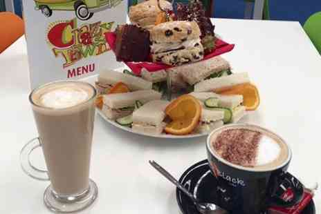 Crazy Town Aintree - Entry and Meals For Two Kids Plus Afternoon Tea  - Save 49%