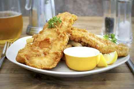 Toast Café Bar & Grill - Fish and Chips For Two - Save 61%