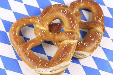 Auntie Annes Pretzels - Choice of Pretzel and Drink  - Save 58%