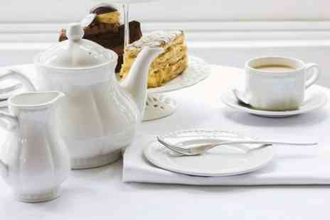 The Front Room Cafe -  Afternoon Tea For Two  - Save 50%