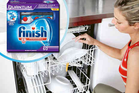 NiftySpot -  Finish Quantum Powerball Dishwasher Tablets - Save 48%