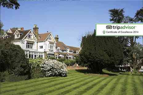Langshot Manor - One night break for 2 including breakfast  - Save 46%