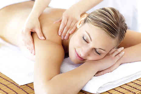 DR Massage and Fitness - Pamper package including one hour hot stone or back neck and shoulder massage and facial - Save 44%