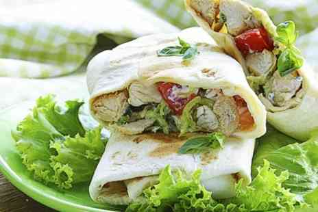 An-Athene Greek Meze Restaurant - An Athene Greek Restaurant: Gyros and Tzatziki For Two - Save 50%